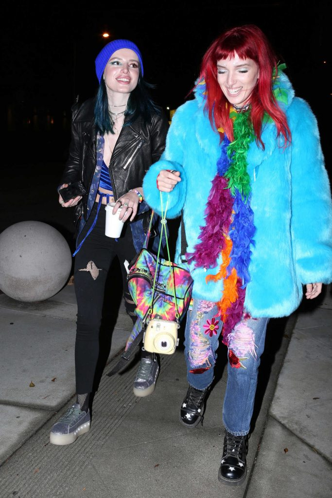 Thorne Celebrates Her Sister Dani's 24th Birthday in West Hollywood-1