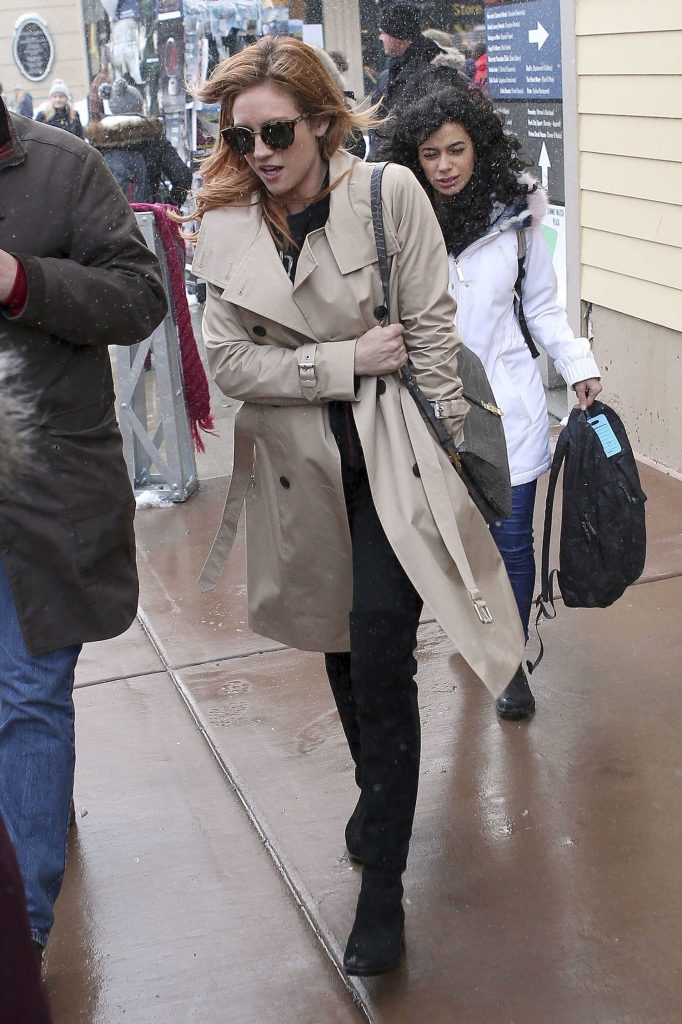 Brittany Snow Was Seen Out in Park City During Sundance Film Festival-1