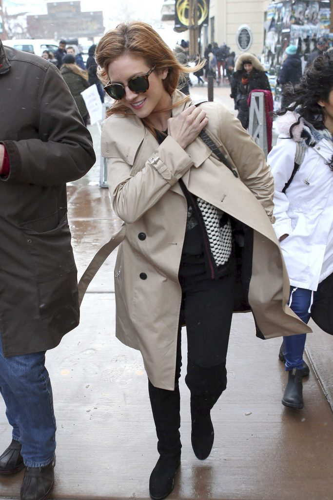Brittany Snow Was Seen Out in Park City During Sundance Film Festival-3