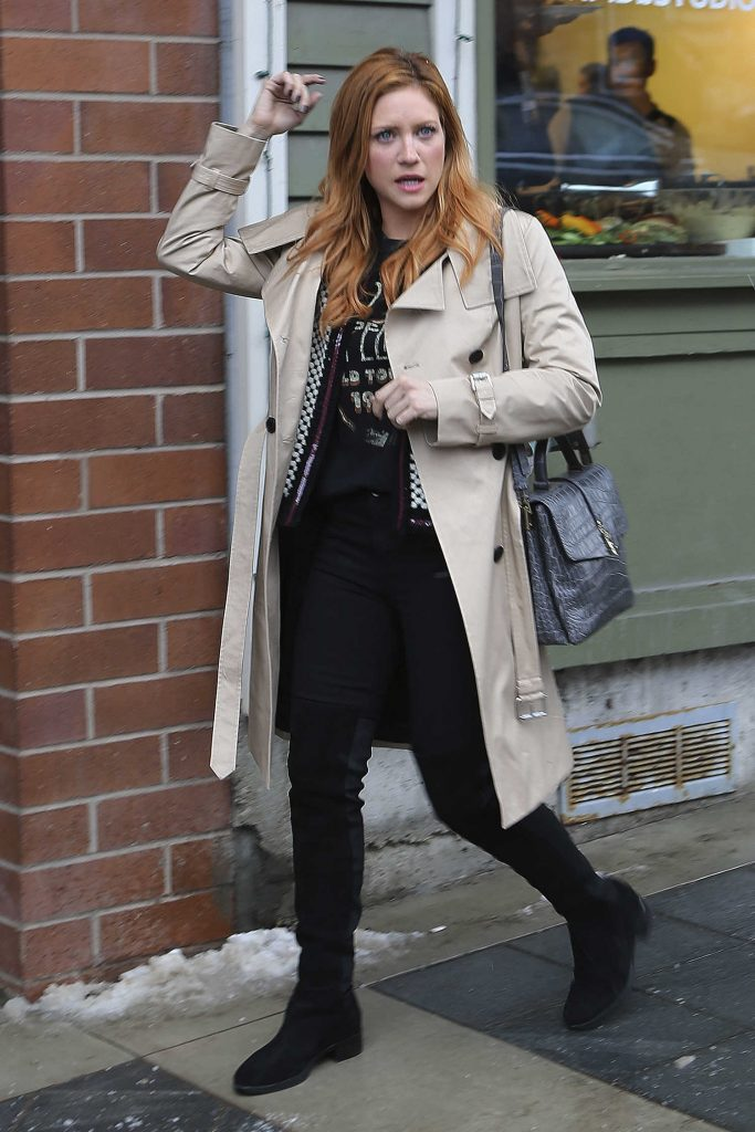 Brittany Snow Was Seen Out in Park City During Sundance Film Festival-4