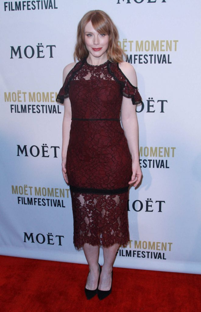 Bryce Dallas Howard at the 2nd Annual Moet Moment Film Festival in Los Angeles-1