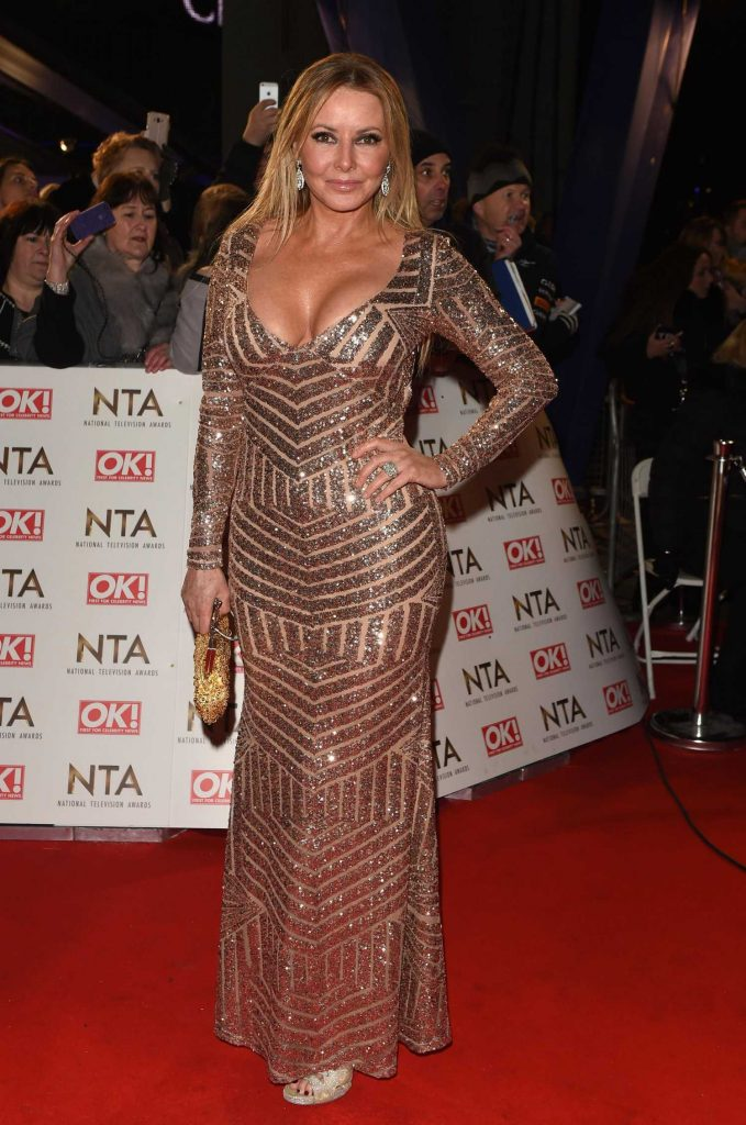 Carol Vorderman at the National Television Awards in London-1