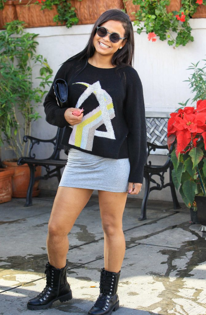 Christina Milian Was Seen Out in Los Angeles-1