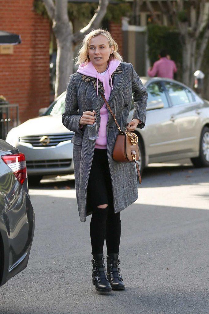 Diane Kruger Leaves Alfred Coffee in West Hollywood-1