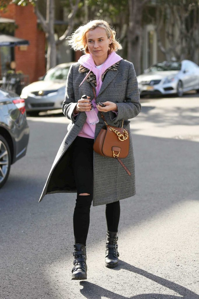 Diane Kruger Leaves Alfred Coffee in West Hollywood-2