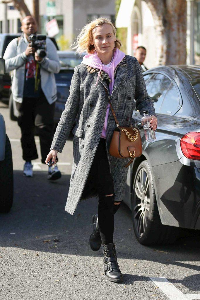 Diane Kruger Leaves Alfred Coffee in West Hollywood-3