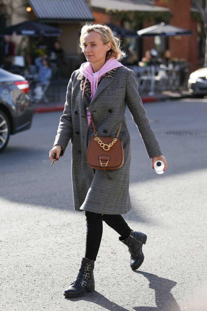 Diane Kruger Leaves Alfred Coffee in West Hollywood-4