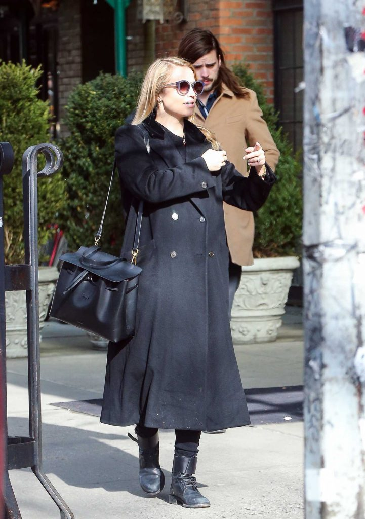 Dianna Agron Was Seen Out in the East Village, New York-2