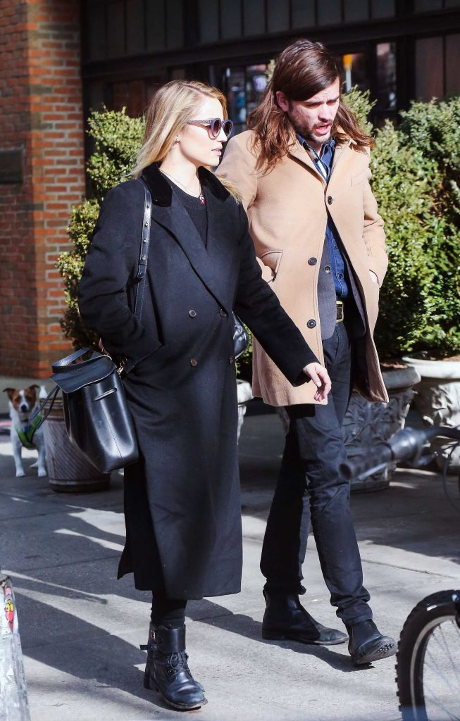 Dianna Agron Was Seen Out in the East Village, New York-4