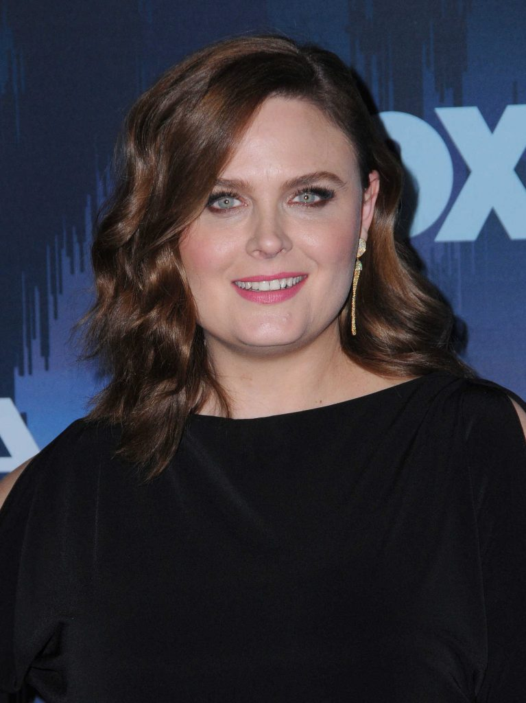 Emily Deschanel at the FOX All-Star Party During the 2017 Winter TCA Tour in Pasadena-4