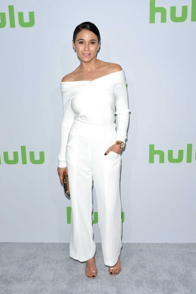 Emmanuelle Chriqui at the Hulu's Winter TCA 2017 in Los Angeles-1