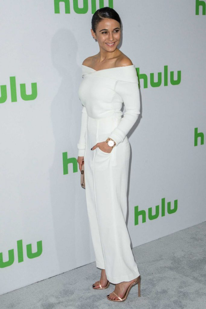 Emmanuelle Chriqui at the Hulu's Winter TCA 2017 in Los Angeles-3