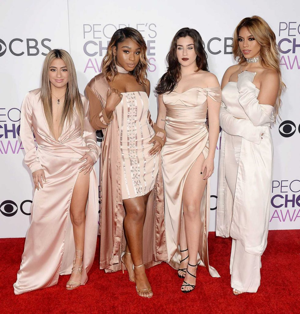 Fifth Harmony at the 43rd Annual People's Choice Awards in Los Angeles-1