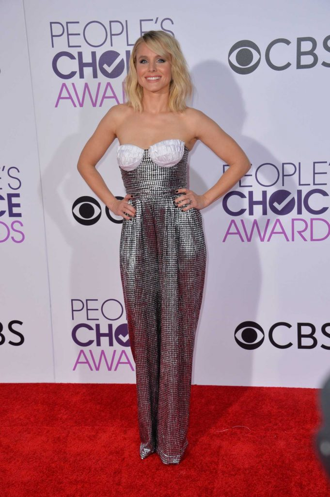 Kristen Bell at the 43rd Annual People's Choice Awards in Los Angeles-1