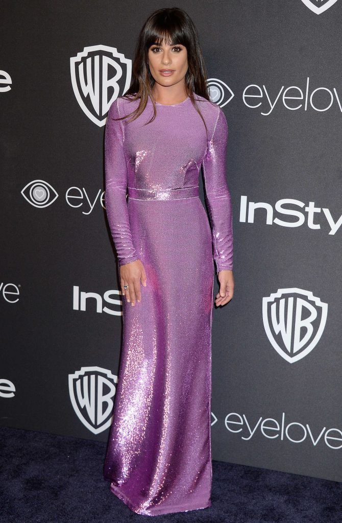Lea Michele at the 18th Annual InStyle Post-Golden Globes Party in Beverly Hills-1