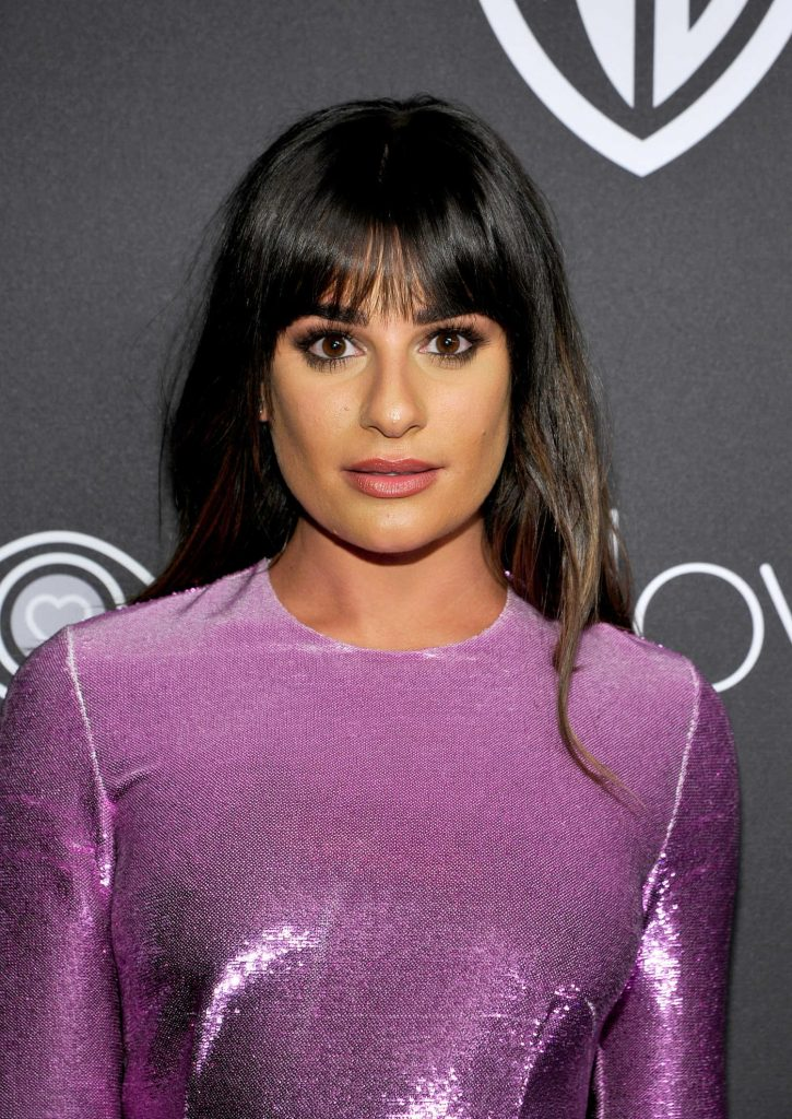 Lea Michele at the 18th Annual InStyle Post-Golden Globes Party in Beverly Hills-4