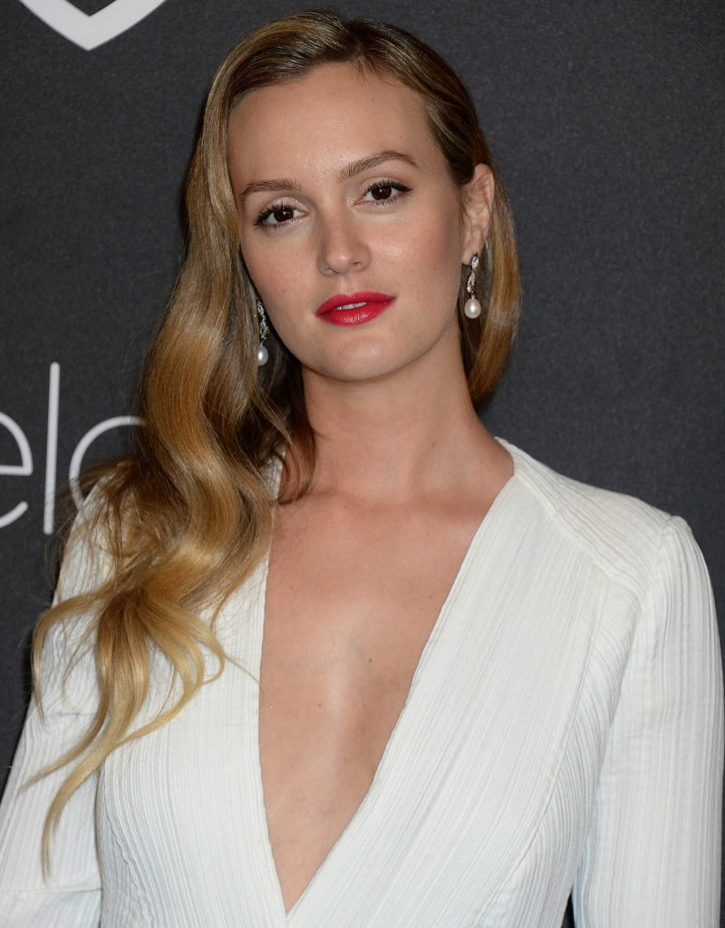 Leighton Meester at the 18th Annual InStyle Post-Golden Globes Party in Beverly Hills-3