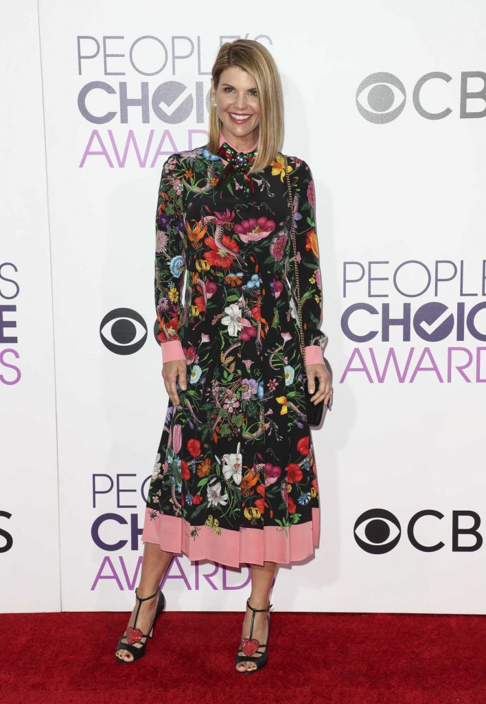 Lori Loughlin at the 43rd Annual People's Choice Awards in Los Angeles-1