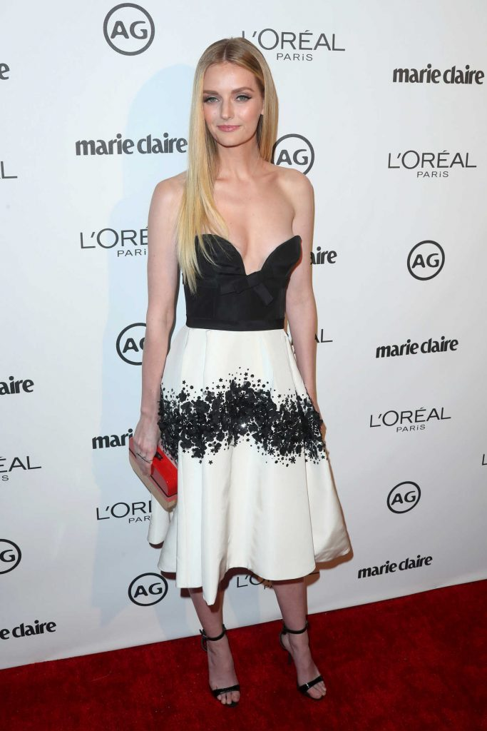 Lydia Hearst at the Marie Claire Image Maker Awards in Los Angeles-2