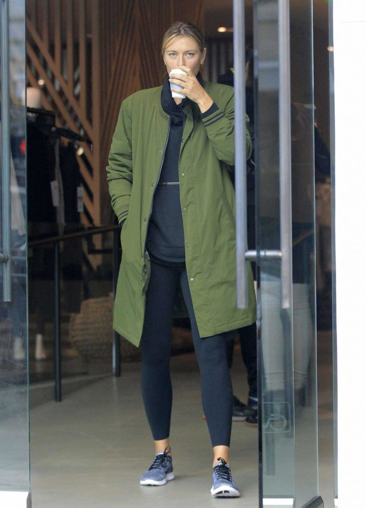 Maria Sharapova Was Seen Out in Beverly Hills-1