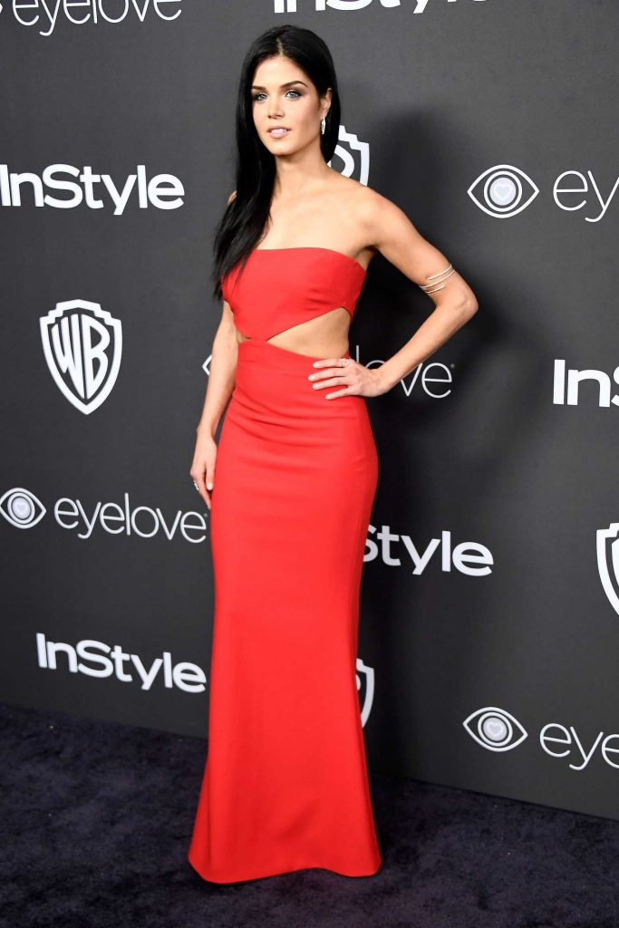 Marie Avgeropoulos at the 18th Annual InStyle Post-Golden Globes Party in Beverly Hills-2