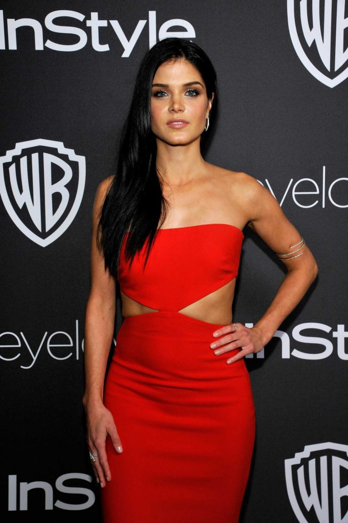 Marie Avgeropoulos at the 18th Annual InStyle Post-Golden Globes Party in Beverly Hills-3