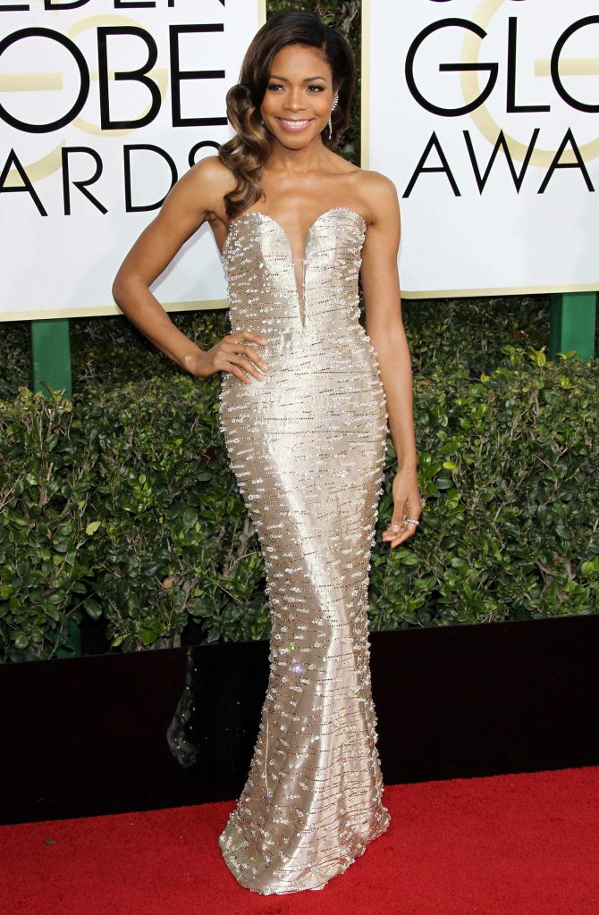 Naomie Harris at the 74th Annual Golden Globe Awards in Beverly Hills-1