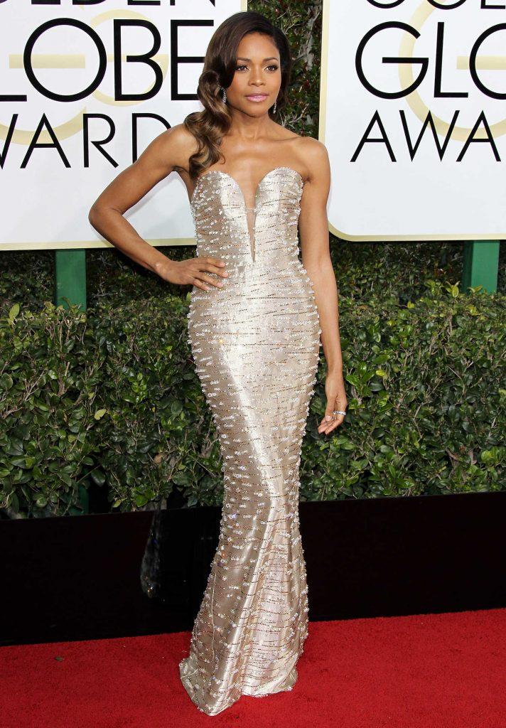 Naomie Harris at the 74th Annual Golden Globe Awards in Beverly Hills-2