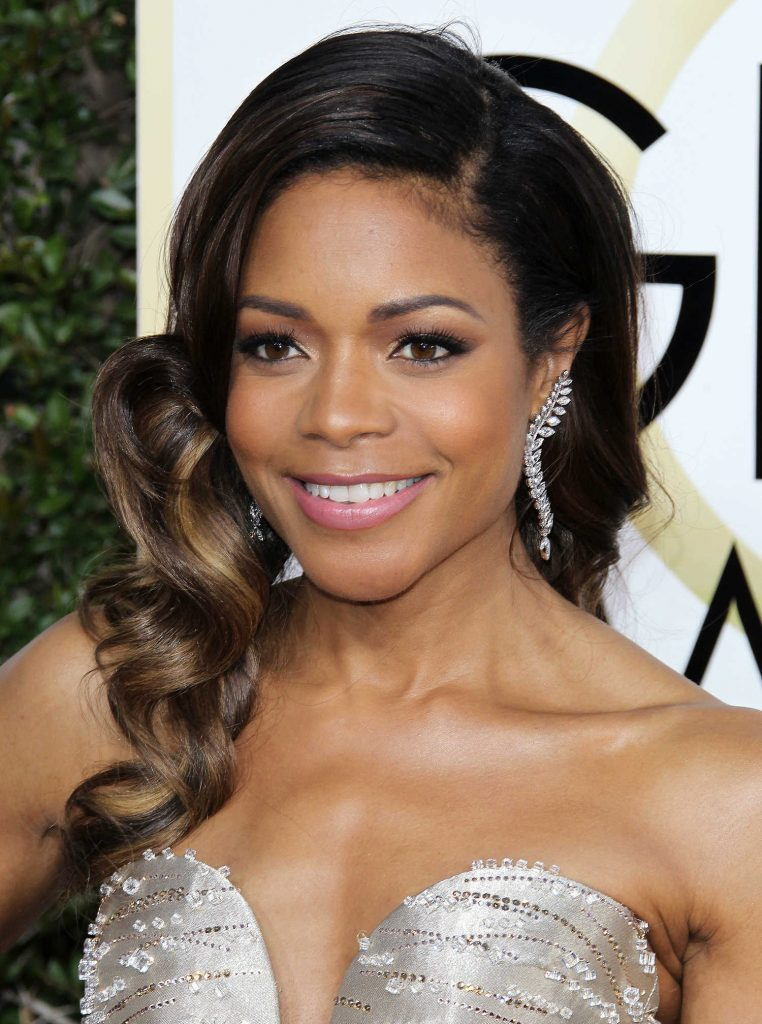 Naomie Harris at the 74th Annual Golden Globe Awards in Beverly Hills-3