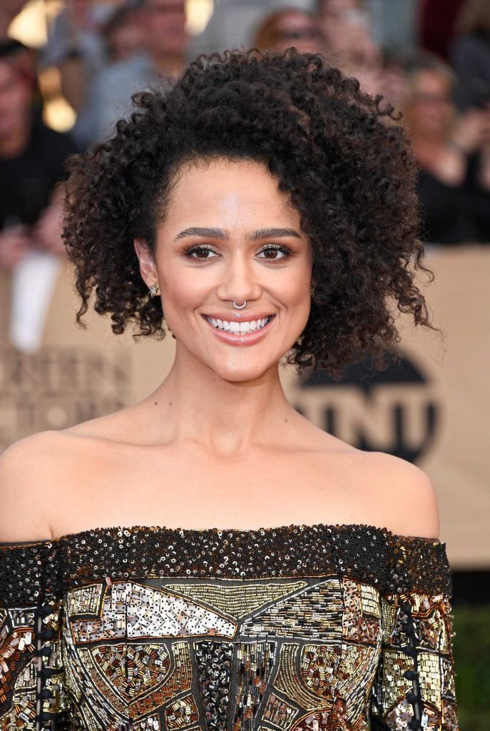 Nathalie Emmanuel at the 23rd Annual Screen Actors Guild Awards in Los Angeles-4