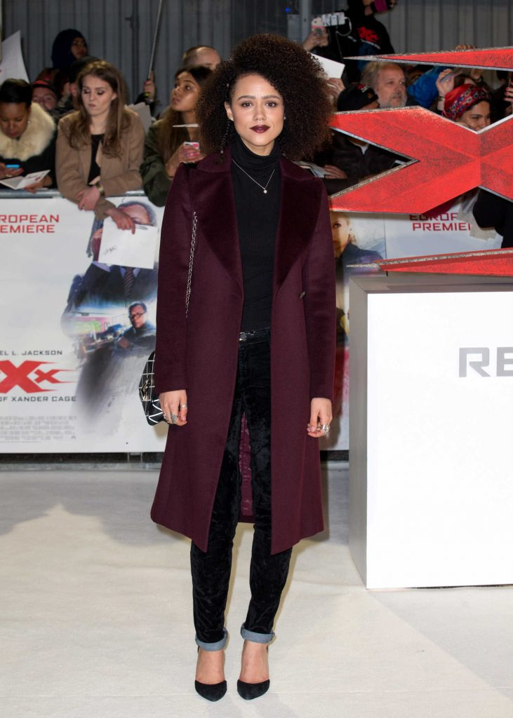 Nathalie Emmanuel at the XXX: Return of Xander Cage European Premiere in London-1