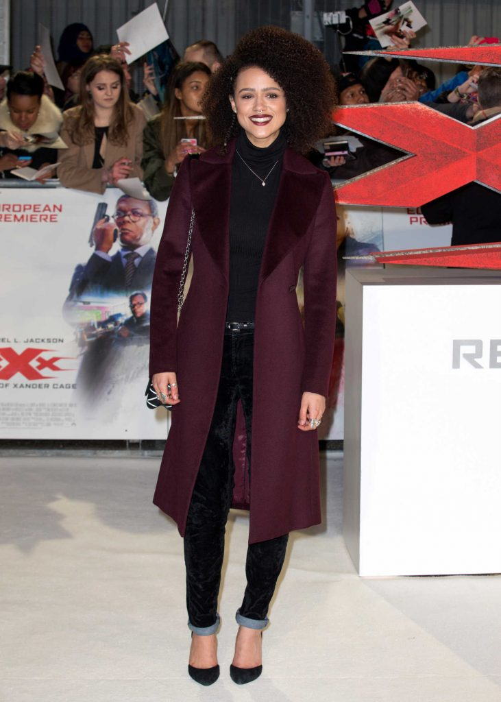 Nathalie Emmanuel at the XXX: Return of Xander Cage European Premiere in London-2