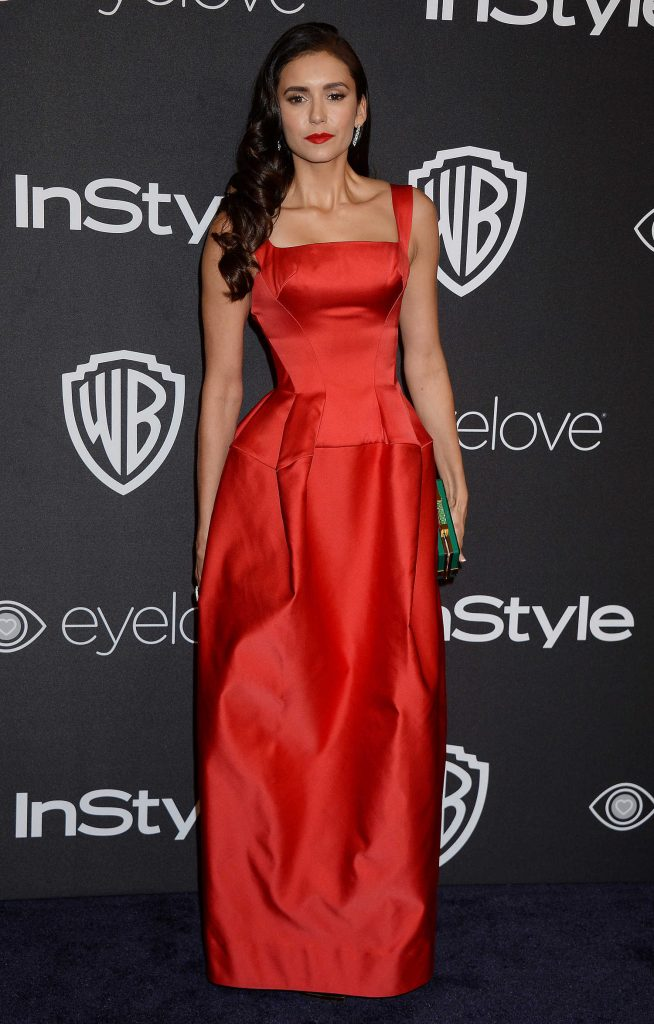 Nina Dobrev at the 18th Annual InStyle Post-Golden Globes Party in Beverly Hills-1