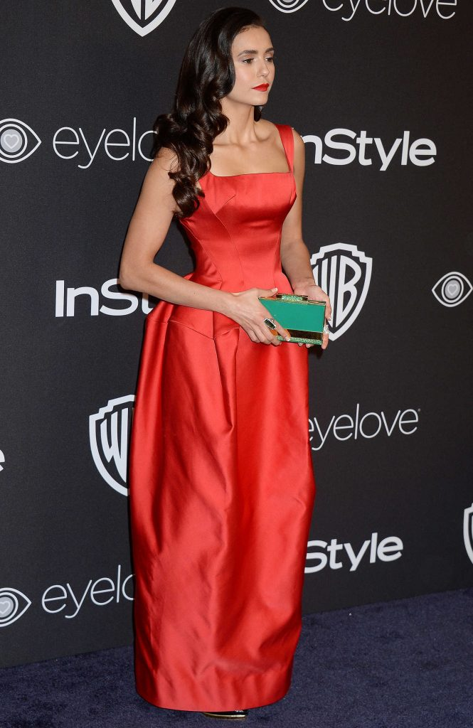 Nina Dobrev at the 18th Annual InStyle Post-Golden Globes Party in Beverly Hills-3