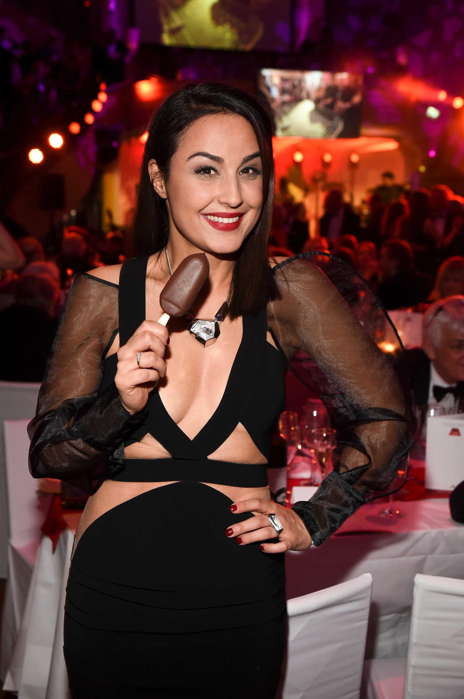 Nina Moghaddam at the Deutscher Filmball in Munich - Celeb