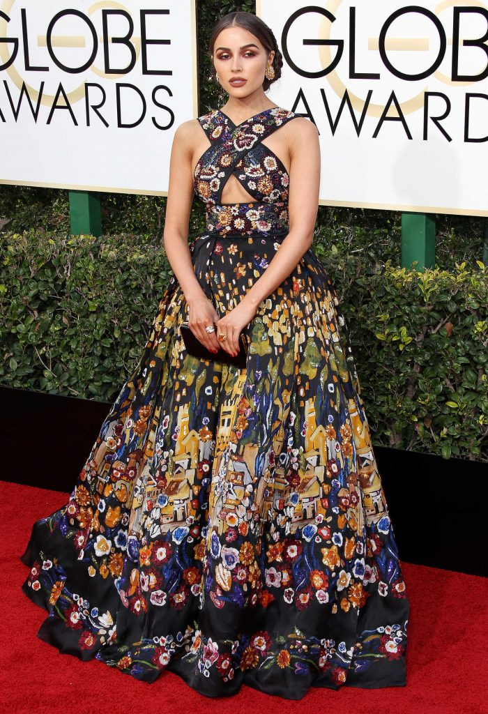 Olivia Culpo at the 74th Annual Golden Globe Awards in Beverly Hills-1