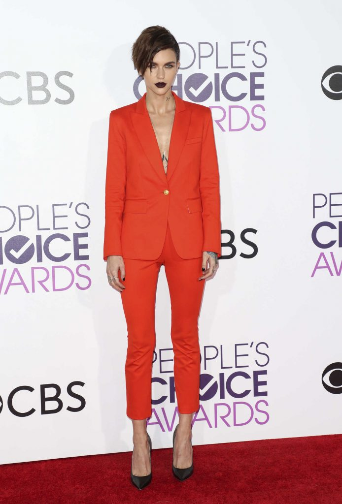 Ruby Rose at the 43rd Annual People's Choice Awards in Los Angeles-1