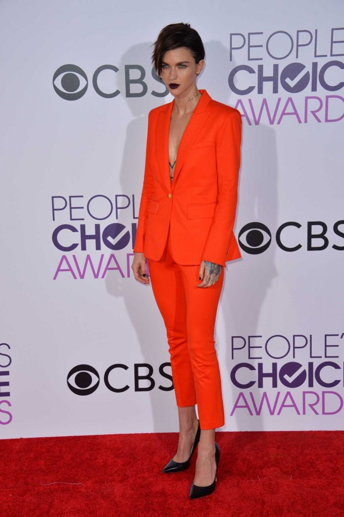 Ruby Rose at the 43rd Annual People's Choice Awards in Los Angeles-2