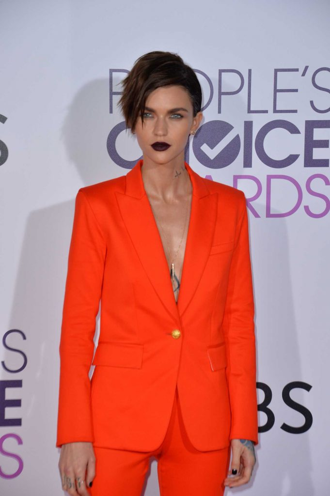 Ruby Rose at the 43rd Annual People's Choice Awards in Los Angeles-3
