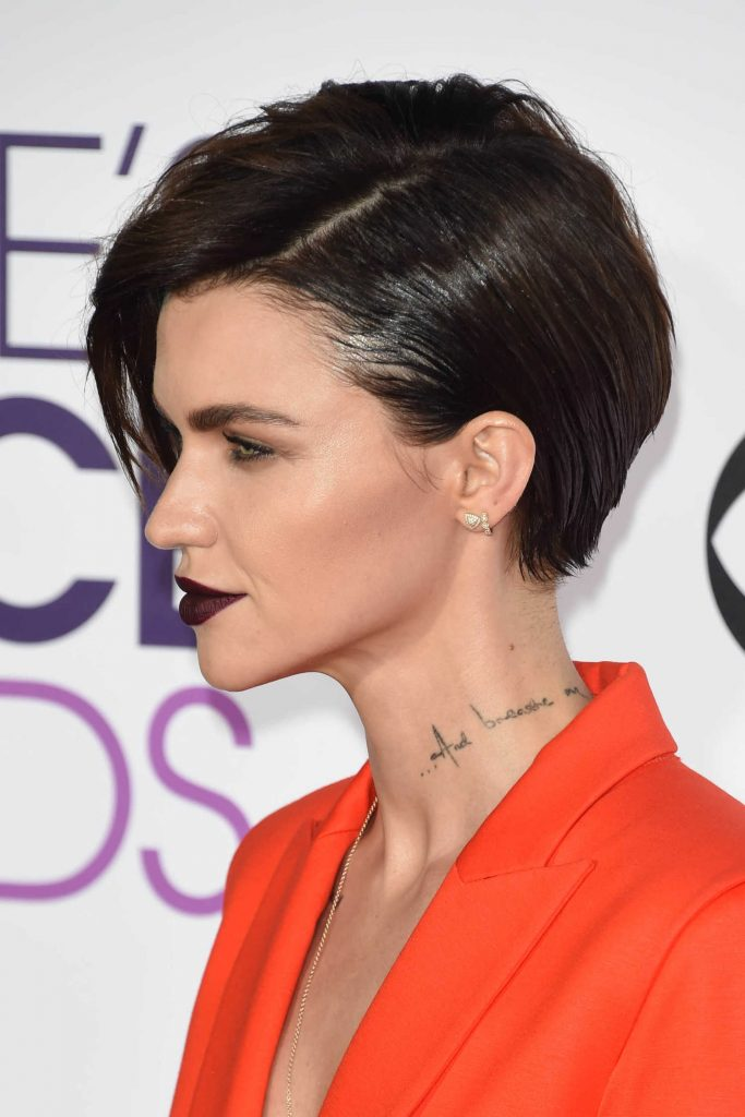 Ruby Rose at the 43rd Annual People's Choice Awards in Los Angeles-5