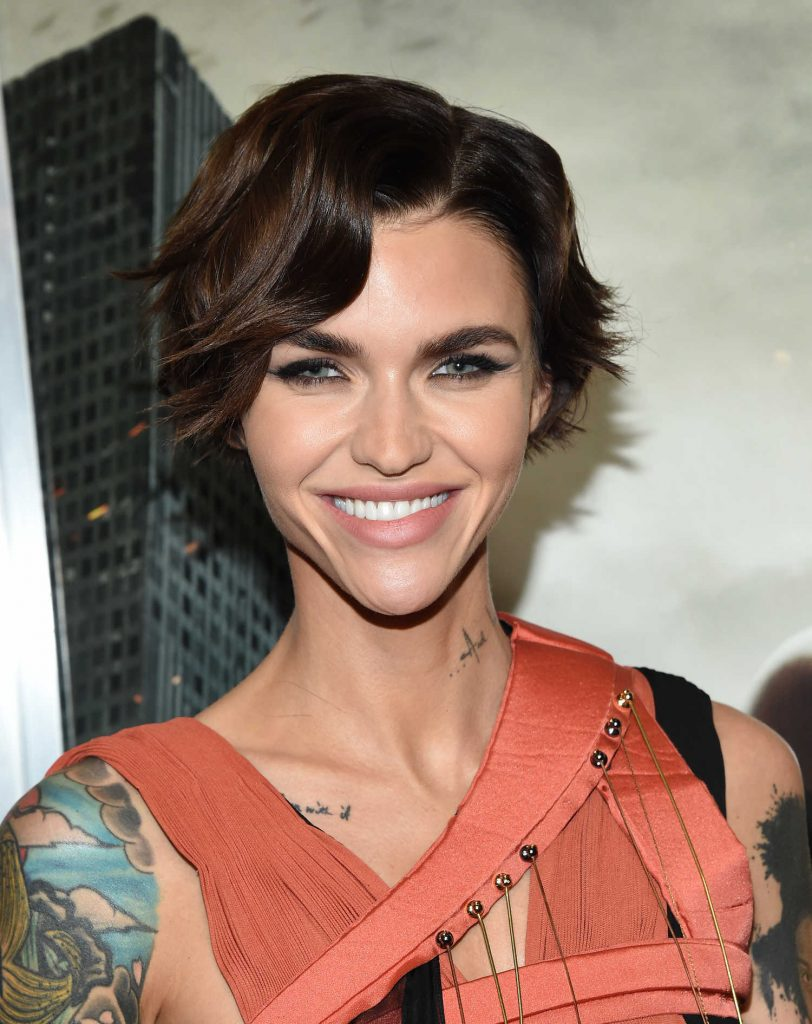 Ruby Rose at the Resident Evil: The Final Chapter Premiere at the Regal Cinema in Los Angeles-4