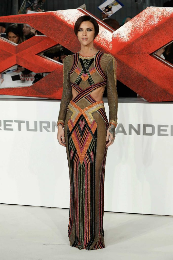 Ruby Rose at the XXX: Return of Xander Cage European Premiere in London-1