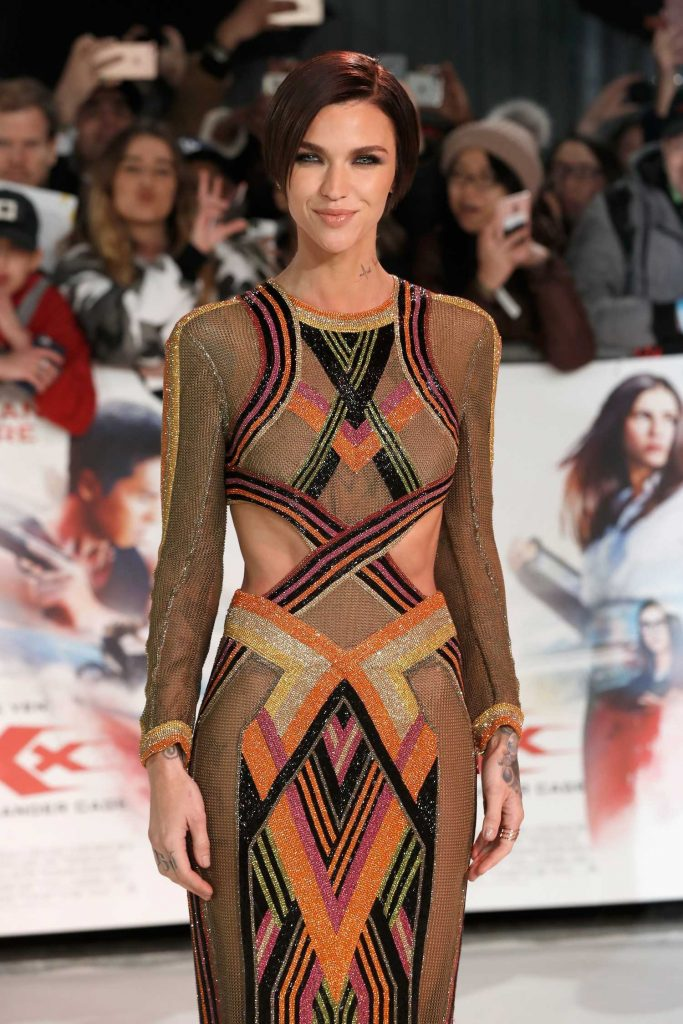 Ruby Rose at the XXX: Return of Xander Cage European Premiere in London-5