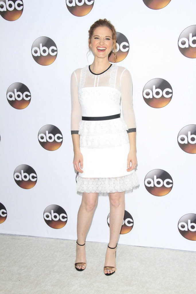 Sarah Drew at the Disney ABC Television Hosts TCA Winter Press Tour in Pasadena-2