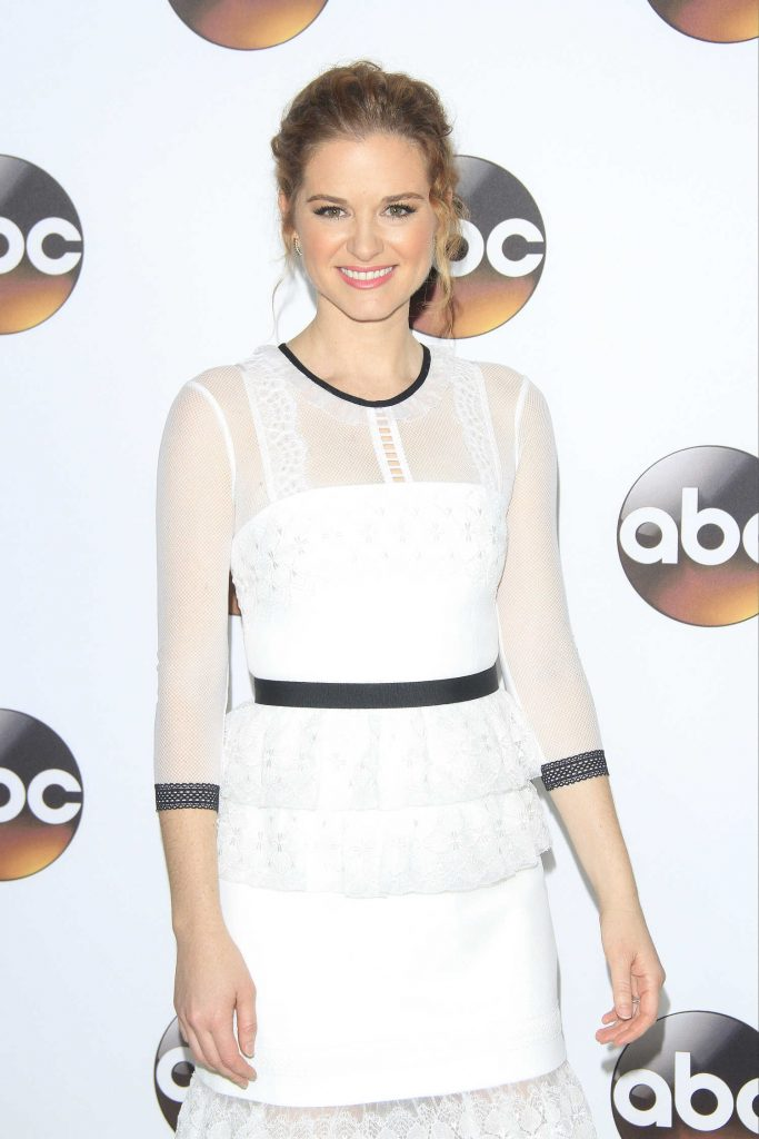 Sarah Drew at the Disney ABC Television Hosts TCA Winter Press Tour in Pasadena-3