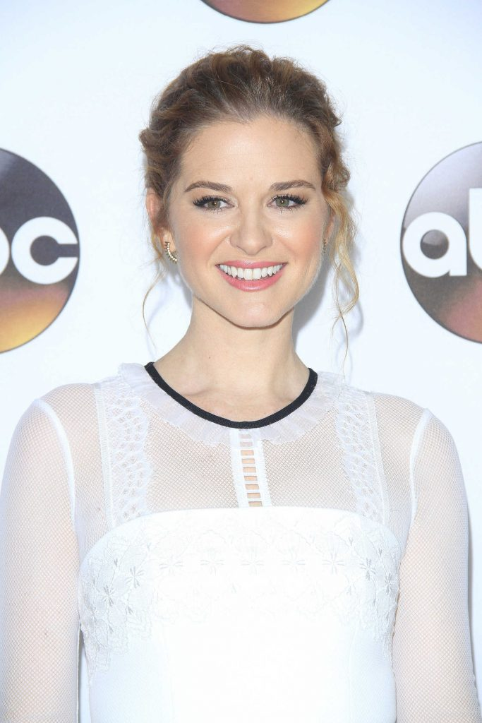 Sarah Drew at the Disney ABC Television Hosts TCA Winter Press Tour in Pasadena-4
