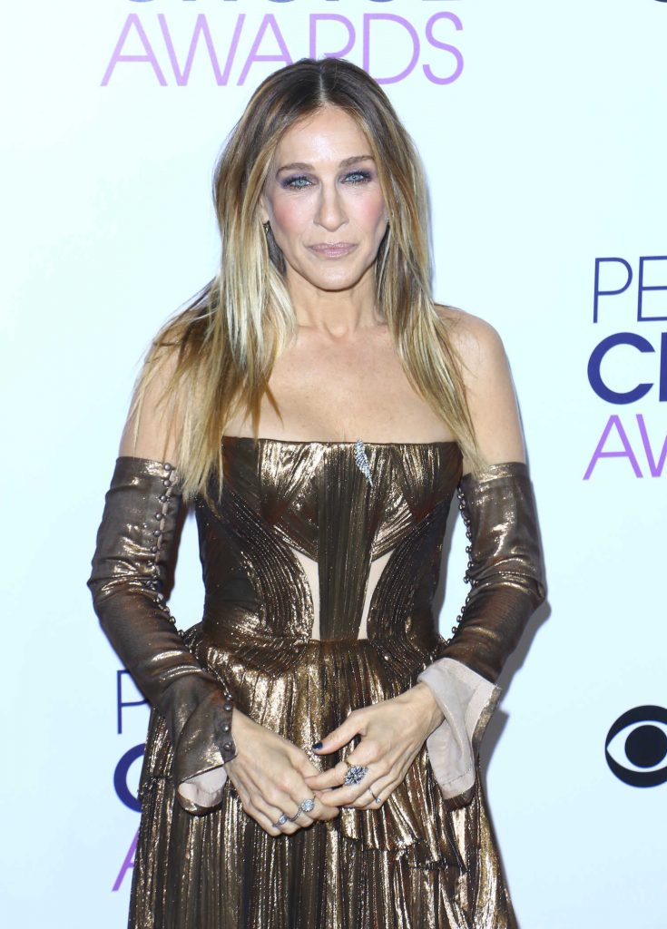 Sarah Jessica Parker at the 43rd Annual People's Choice Awards in Los Angeles-1