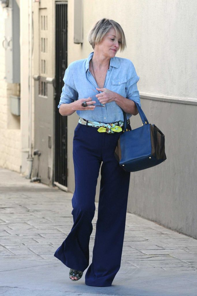 Sharon Stone Was Seen Out in Beverly Hills – Celeb Donut Losangeles