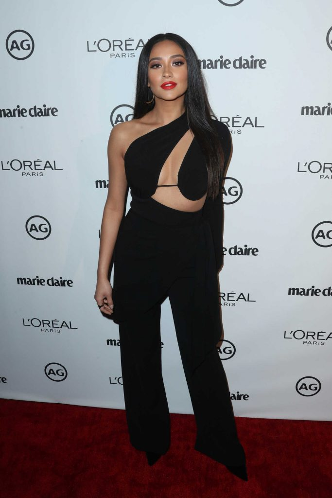 Shay Mitchell at the Marie Claire Image Maker Awards in Los Angeles-1