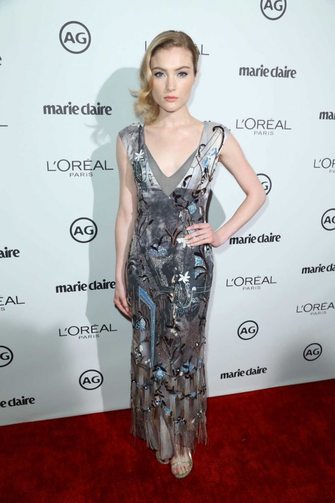 Skyler Samuels at the Marie Claire Image Maker Awards in Los Angeles-1